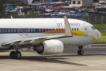 VT-JGV - Jet Airways Boeing 737-800