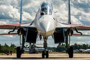 """31 - Russia - Air Force """"Russian Knights"""" Sukhoi Su-30SM aircraft"""