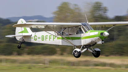 G-BFFP - Private Piper PA-18 Super Cub