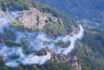 A-924 - Switzerland - Air Force: PC-7 Team Pilatus PC-7 I & II