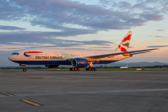 G-YMMP - British Airways Boeing 777-200
