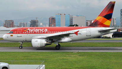 N597EL - Avianca Airbus A318