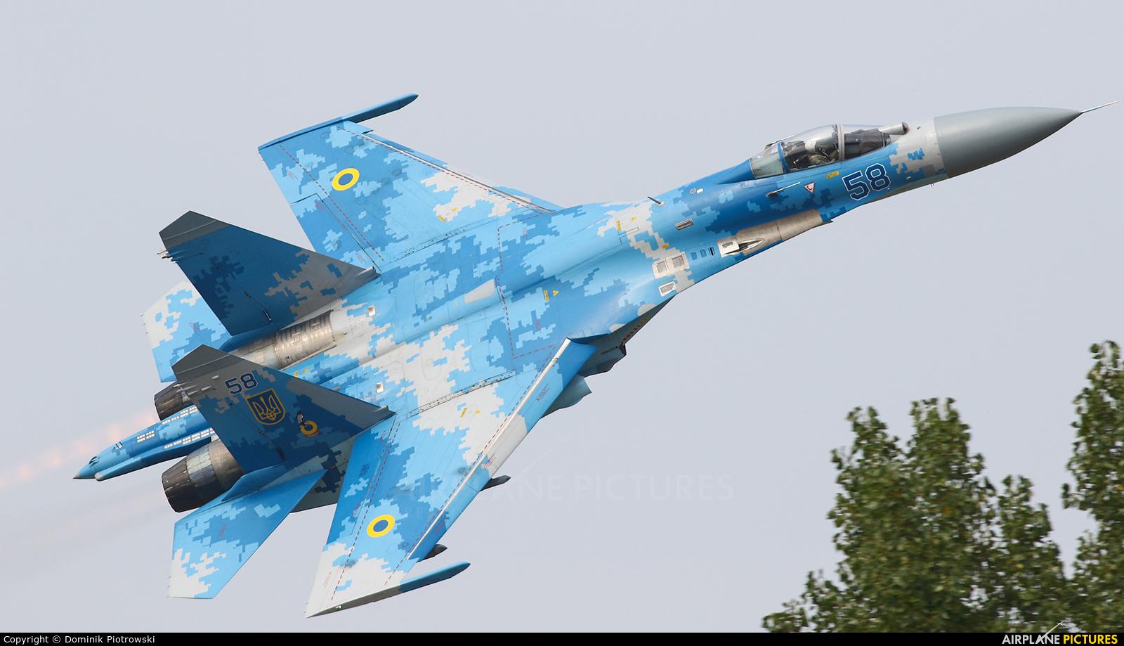 Ukraine - Air Force 58 aircraft at Radom - Sadków