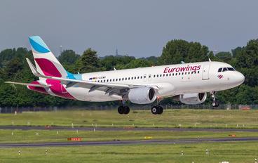 D-AEWR - Eurowings Airbus A320