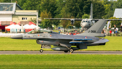 J-368 - Netherlands - Air Force General Dynamics F-16B Fighting Falcon