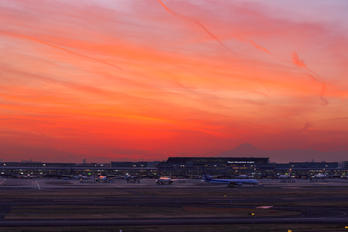 - - ANA - All Nippon Airways - Airport Overview - Runway, Taxiway