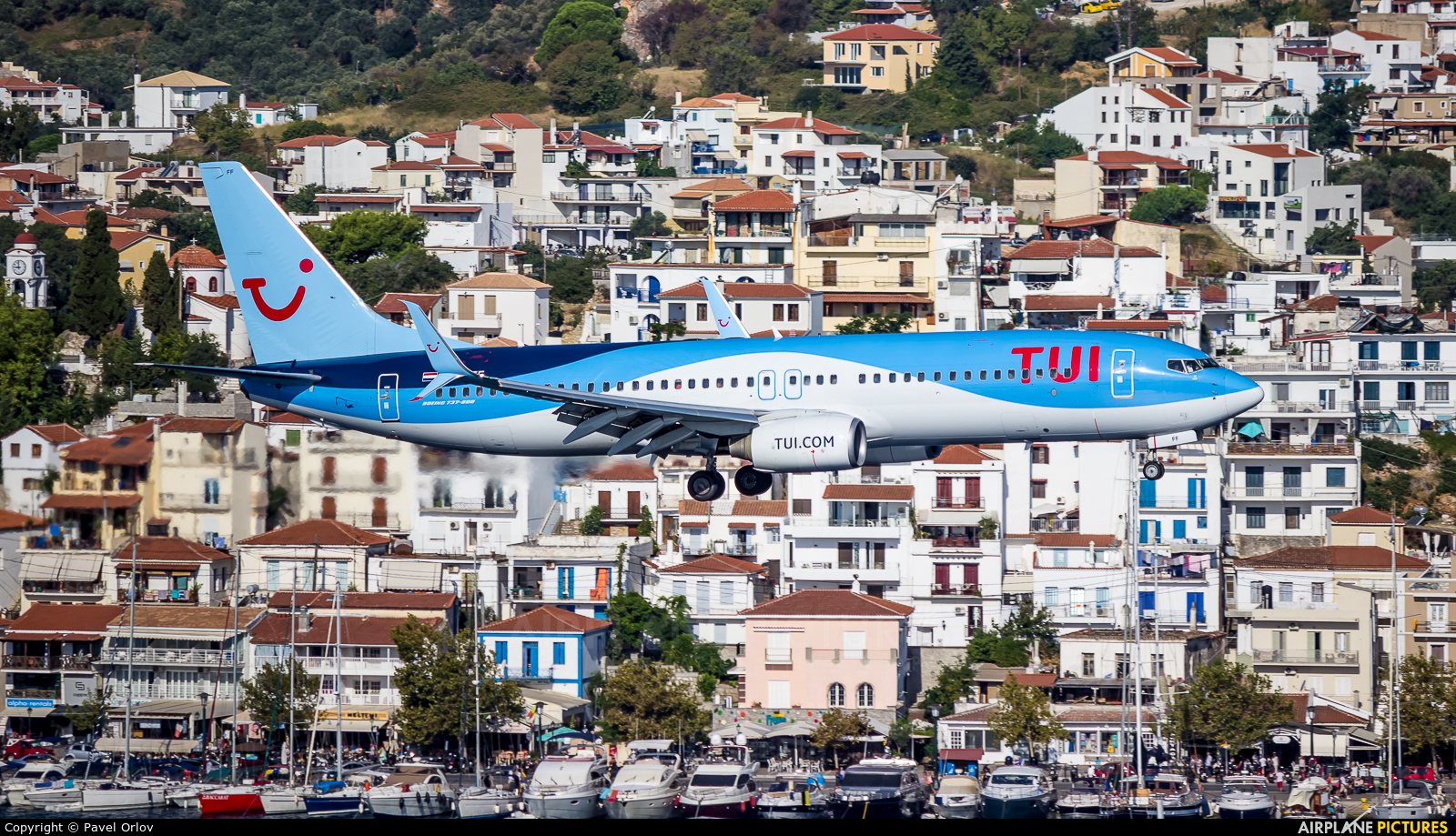 TUI Airlines Netherlands PH-TFF aircraft at Skiathos