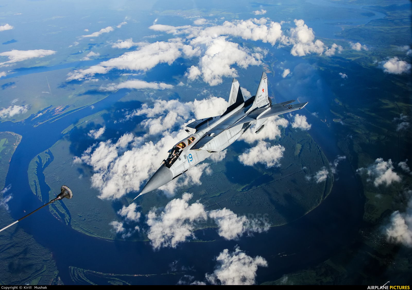Russia - Air Force RF-95455 aircraft at In Flight - Russia