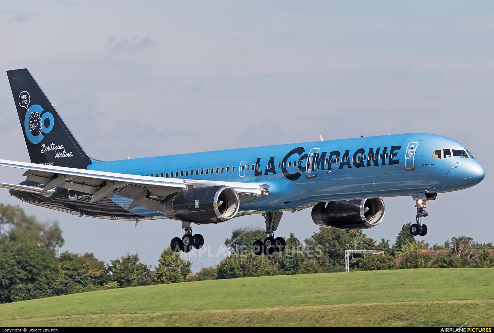 La Compagnie F-HTAG aircraft at Birmingham