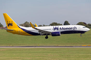 G-ZBAV - Monarch Airlines Boeing 737-800