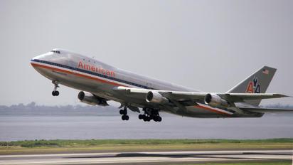 N9663 - American Airlines Boeing 747-100