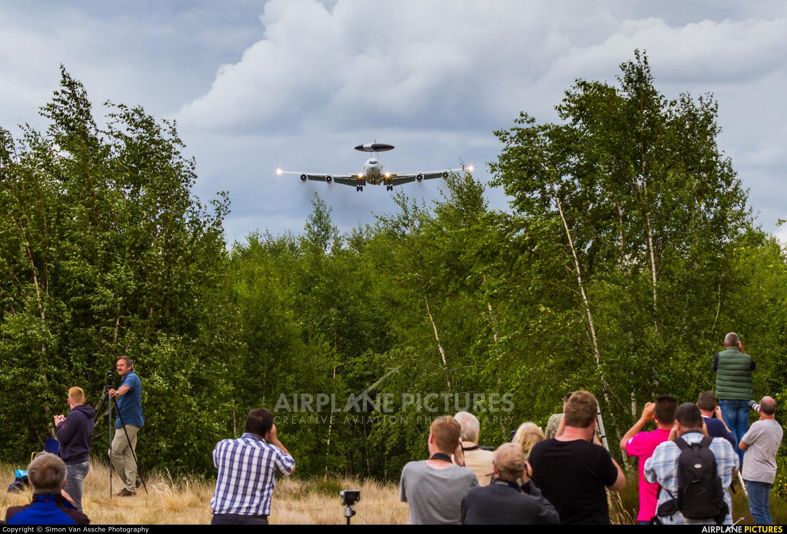 NATO LX-N90450 aircraft at Geilenkirchen
