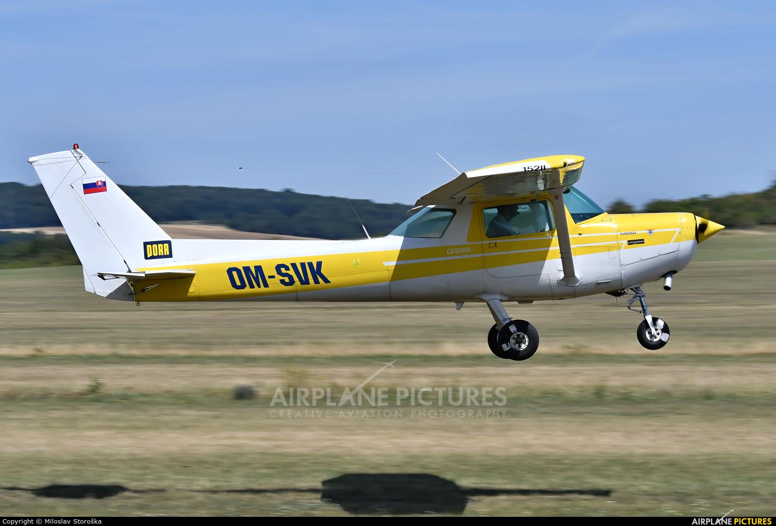 Aeroklub Trenčín OM-SVK aircraft at Spitzerberg
