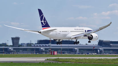 SP-LRH - LOT - Polish Airlines Boeing 787-8 Dreamliner