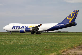 N412MC - Atlas Air Boeing 747-400F, ERF