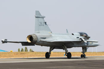 262 - Sweden - Air Force SAAB JAS 39B Gripen