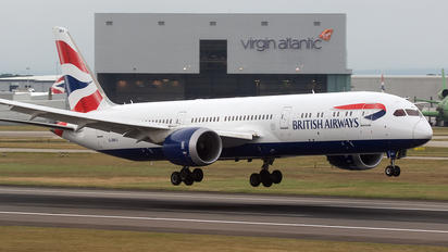 G-ZBKJ - British Airways Boeing 787-9 Dreamliner