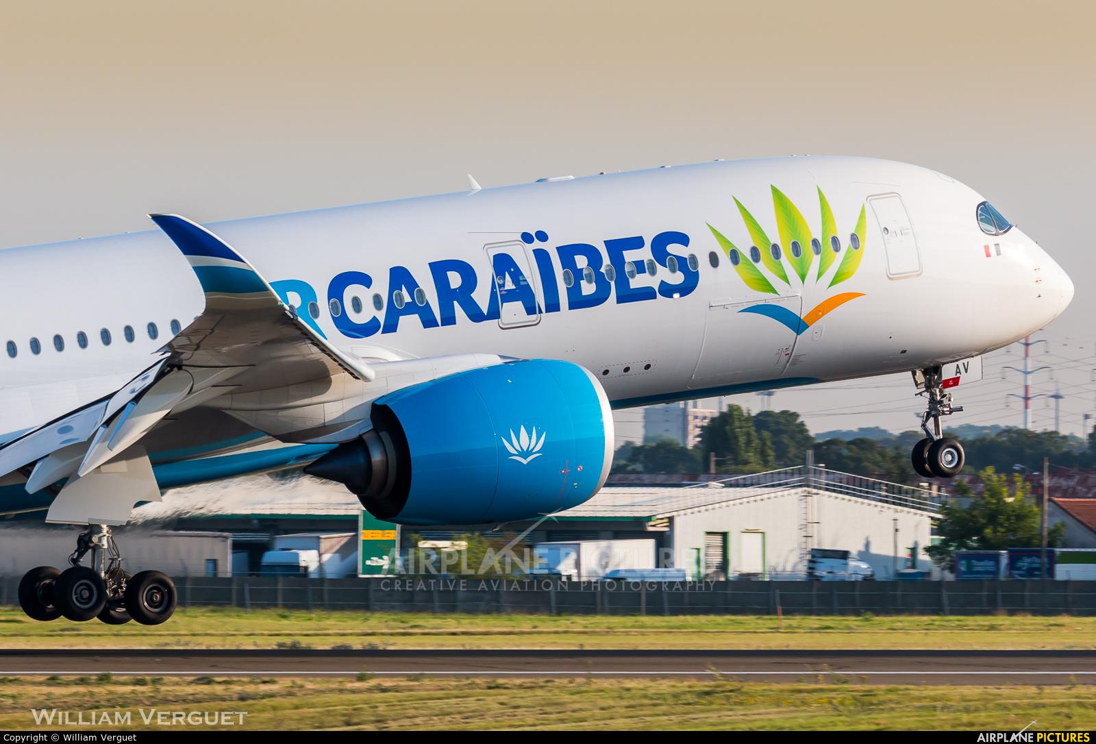 Air Caraibes F-HHAV aircraft at Paris - Orly