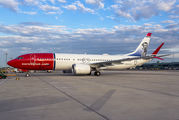 EI-FYB - Norwegian Air Shuttle Boeing 737-8 MAX aircraft