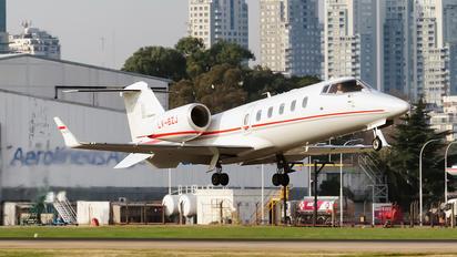 LV-BZJ - Private Learjet 60