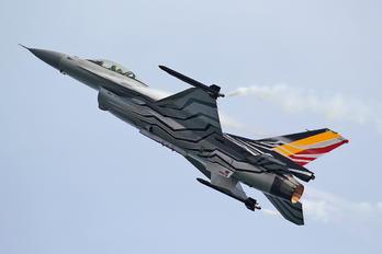 FA-123 - Belgium - Air Force Lockheed Martin F-16A Block 20 MLU