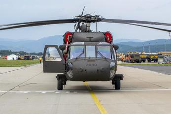 7640 - Slovakia -  Air Force Sikorsky UH-60M Black Hawk