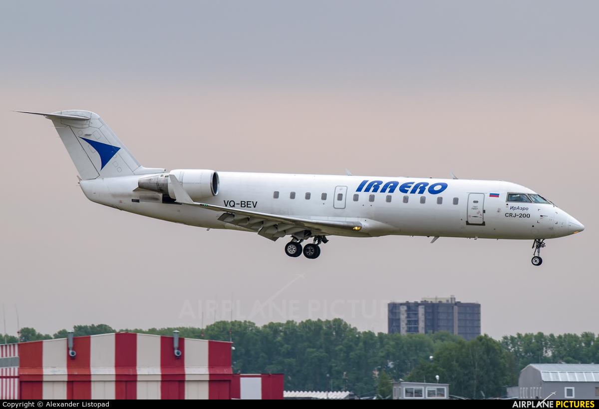 Iraero VQ-BEV aircraft at Novosibirsk