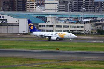 JA-1087 - Mongolian Airlines Boeing 737-700