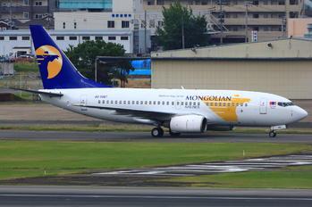 JU-1087 - Mongolian Airlines Boeing 737-700