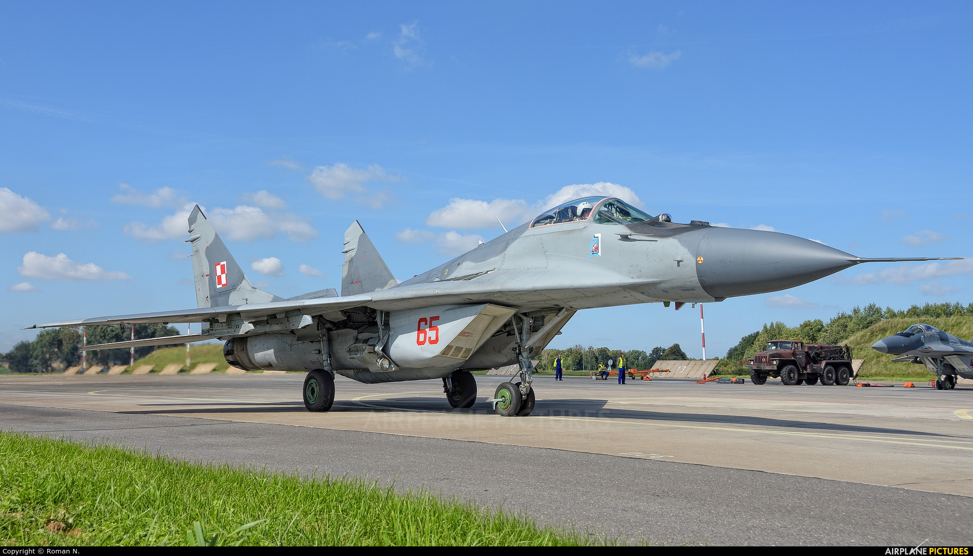 Poland - Air Force 65 aircraft at Malbork