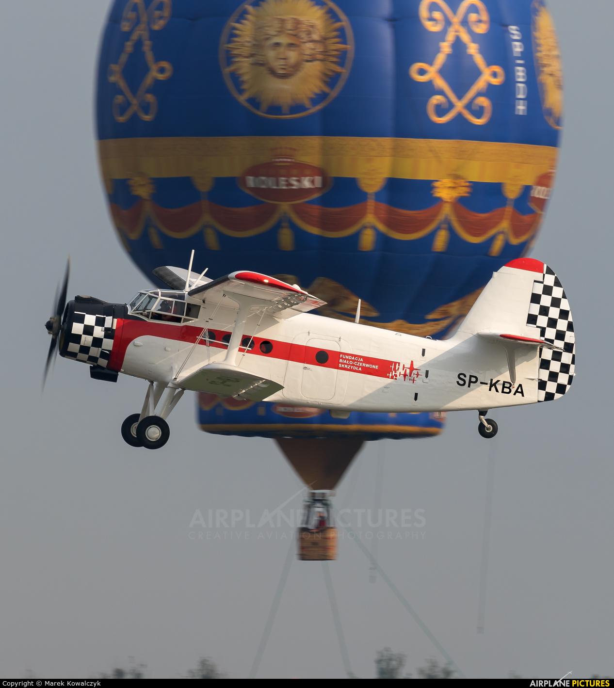 Private SP-KBA aircraft at Radom - Sadkow
