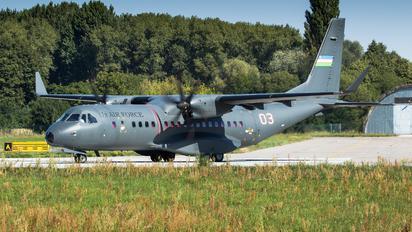 03 - Uzbekistan Air Force Casa C-295MW