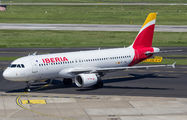 EC-JFN - Iberia Airbus A320 aircraft