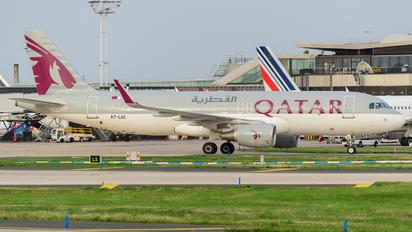 A7-LAC - Qatar Airways Airbus A320