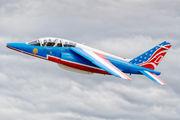 "F-TERR - France - Air Force ""Patrouille de France"" Dassault - Dornier Alpha Jet E aircraft"