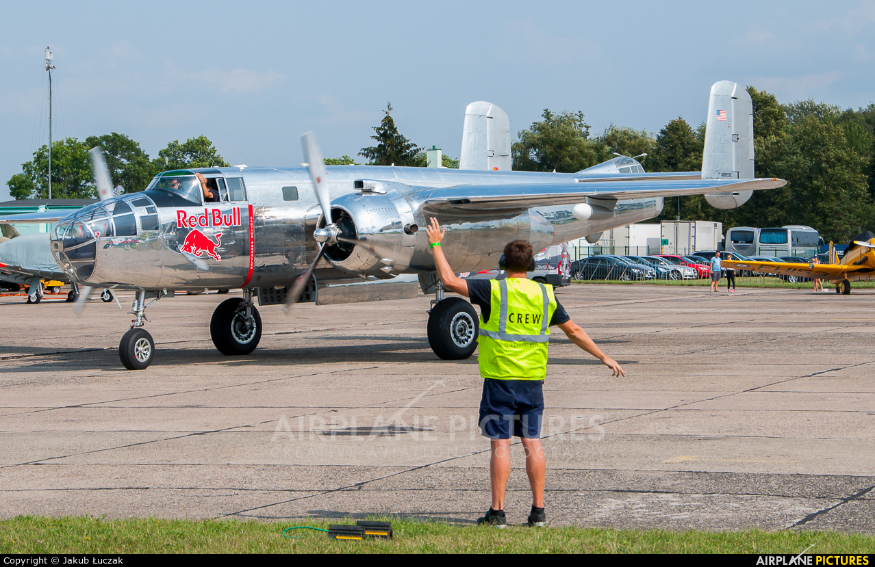 The Flying Bulls N6123C aircraft at Radom - Sadków