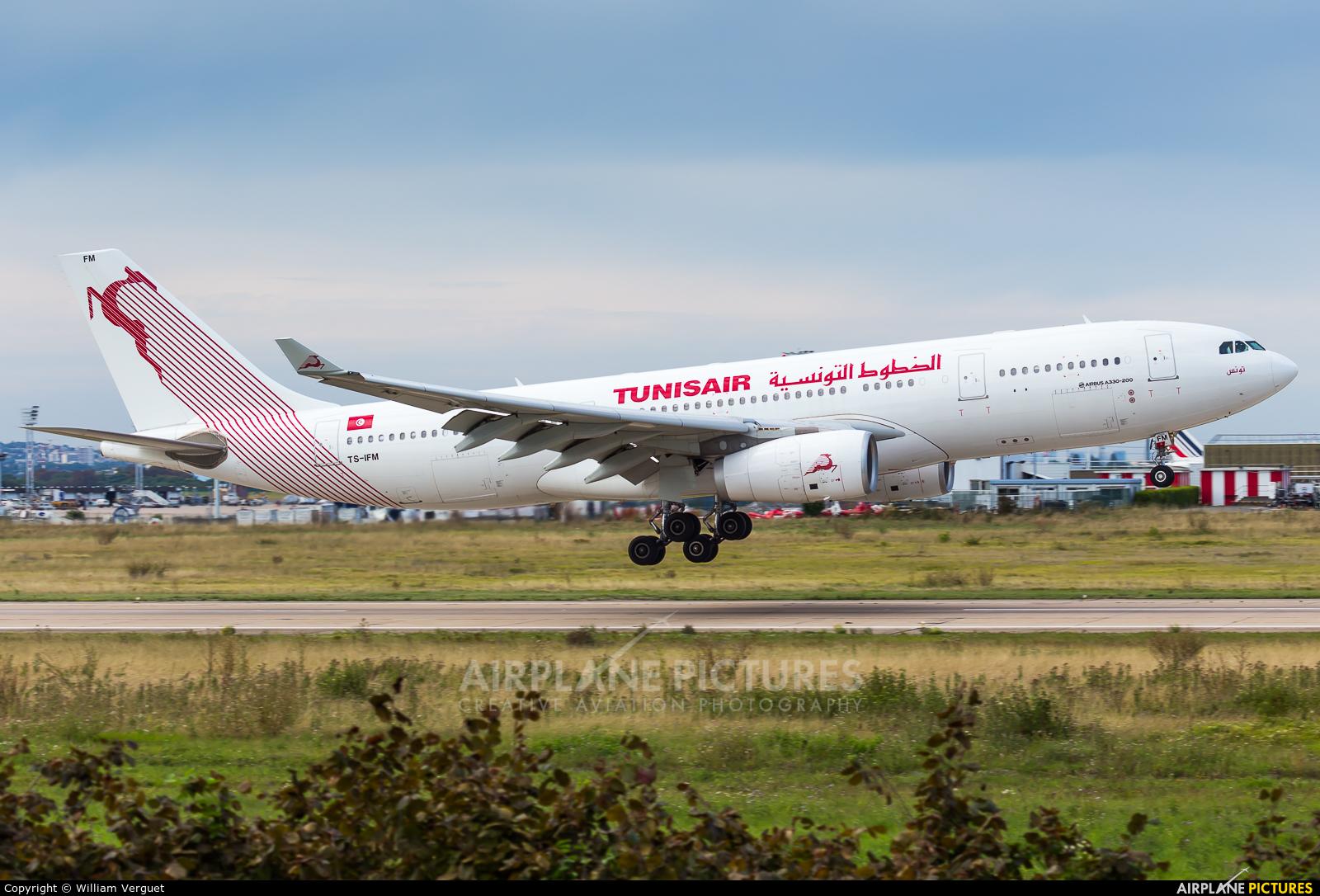 Tunisair TS-IFM aircraft at Paris - Orly