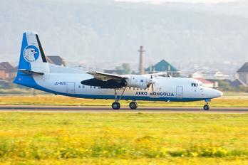 JU-8251 - Aero Mongolia Fokker 50F