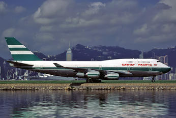 VR-HOW - Cathay Pacific Boeing 747-400
