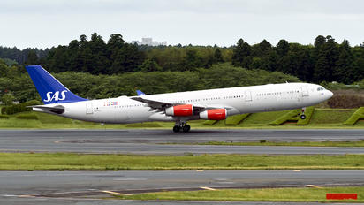 OY-KBC - SAS - Scandinavian Airlines Airbus A340-300