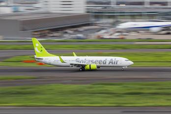 JA810X - Solaseed Air - Skynet Asia Airways Boeing 737-800