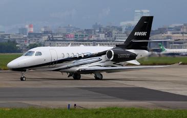 N985BC - Private Cessna 680A Latitude