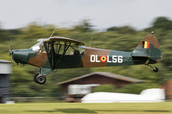 OO-HBQ - Private Piper PA-18 Super Cub