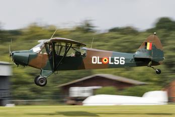 OO-HBQ - Private Piper PA-18 Super Cub