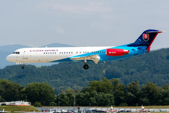 OM-BYB - Slovakia -  Air Force Fokker 100