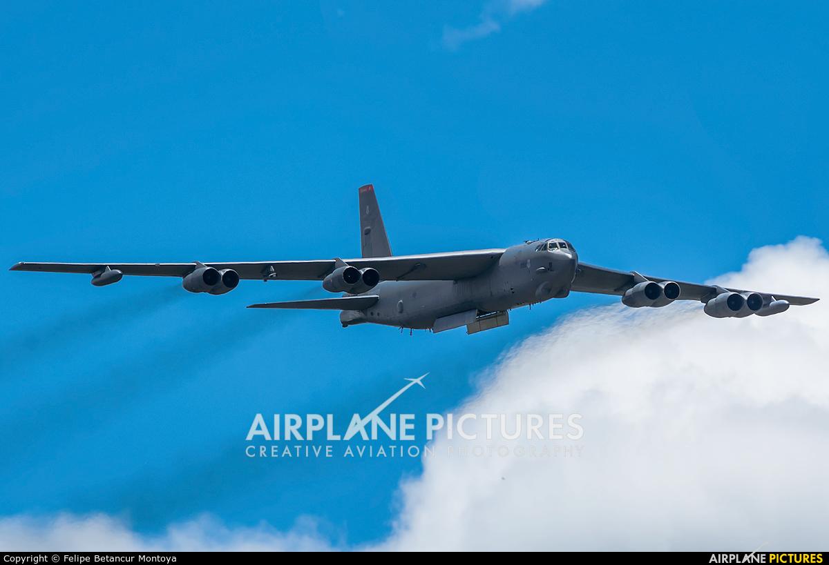 USA - Air Force 60-0052 aircraft at Medellin - Jose Maria Cordova Intl