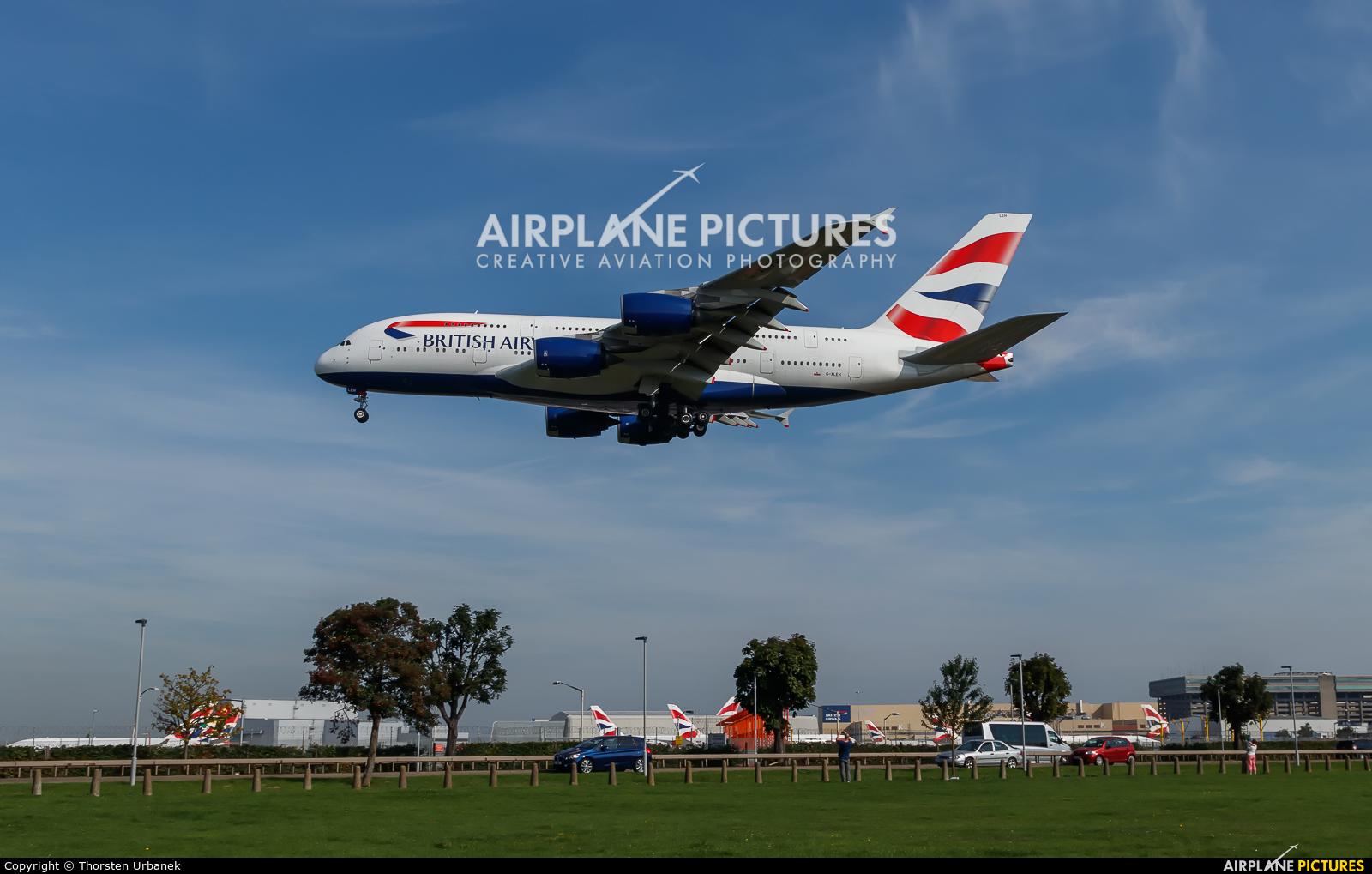 British Airways G-XLEH aircraft at London - Heathrow