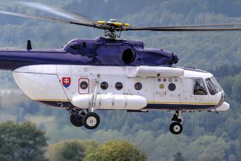OM-BYU - Slovakia -  Air Force Mil Mi-171