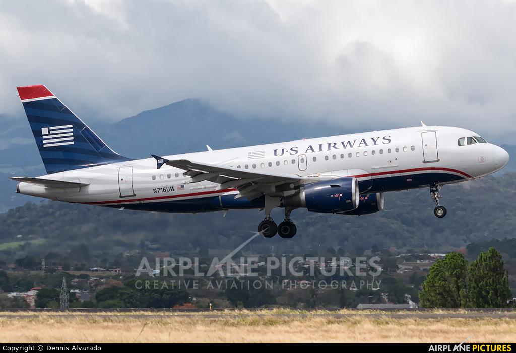 US Airways N716UW aircraft at San Jose - Juan Santamaría Intl