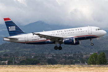 N716UW - US Airways Airbus A319